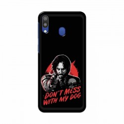 Buy Samsung Galaxy M20 Dont Mess With my Dog Mobile Phone Covers Online at Craftingcrow.com
