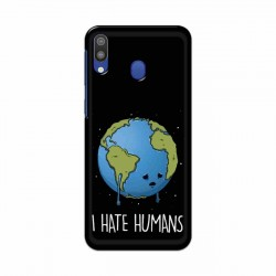 Buy Samsung Galaxy M20 I Hate Humans Mobile Phone Covers Online at Craftingcrow.com
