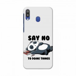 Buy Samsung Galaxy M20 Say No Mobile Phone Covers Online at Craftingcrow.com