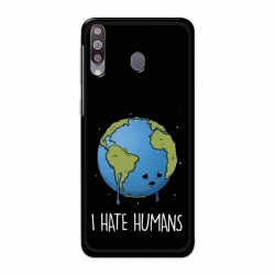 Buy Samsung Galaxy M30 I Hate Humans Mobile Phone Covers Online at Craftingcrow.com