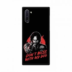Buy Samsung Galaxy Note 10 Dont Mess With my Dog Mobile Phone Covers Online at Craftingcrow.com