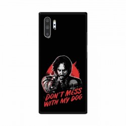 Buy Samsung Galaxy Note 10 Pro Dont Mess With my Dog Mobile Phone Covers Online at Craftingcrow.com