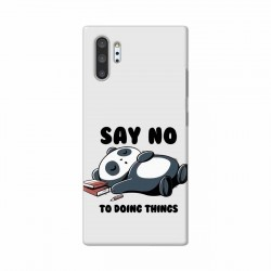 Buy Samsung Galaxy Note 10 Pro Say No Mobile Phone Covers Online at Craftingcrow.com