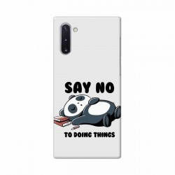 Buy Samsung Galaxy Note 10 Say No Mobile Phone Covers Online at Craftingcrow.com