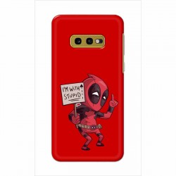 Buy Samsung Galaxy S10e I am with Stupid Mobile Phone Covers Online at Craftingcrow.com