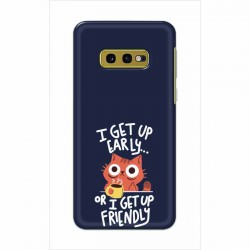 Buy Samsung Galaxy S10e Morning Cat Mobile Phone Covers Online at Craftingcrow.com