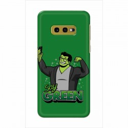 Buy Samsung Galaxy S10e Say Green Mobile Phone Covers Online at Craftingcrow.com
