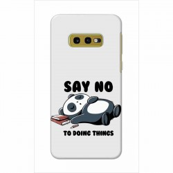 Buy Samsung Galaxy S10e Say No Mobile Phone Covers Online at Craftingcrow.com