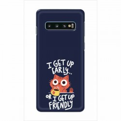 Buy Samsung Galaxy S10 Plus Morning Cat Mobile Phone Covers Online at Craftingcrow.com
