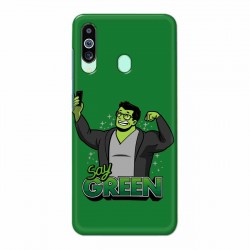 Buy Samsung M40 Say Green Mobile Phone Covers Online at Craftingcrow.com