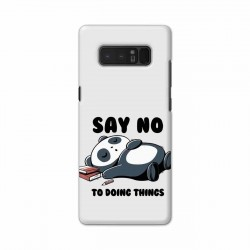 Buy Samsung Note 8 Say No Mobile Phone Covers Online at Craftingcrow.com