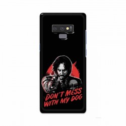 Buy Samsung Note 9 Dont Mess With my Dog Mobile Phone Covers Online at Craftingcrow.com