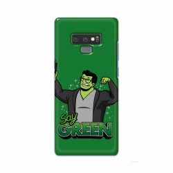 Buy Samsung Note 9 Say Green Mobile Phone Covers Online at Craftingcrow.com