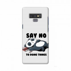 Buy Samsung Note 9 Say No Mobile Phone Covers Online at Craftingcrow.com