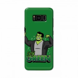 Buy Samsung S8 Plus Say Green Mobile Phone Covers Online at Craftingcrow.com