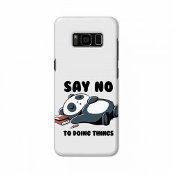 Buy Samsung S8 Plus Say No Mobile Phone Covers Online at Craftingcrow.com