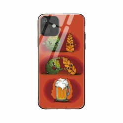Buy Apple iPhone 11 Beer Fusion- Glass Case Mobile Phone Covers Online at Craftingcrow.com