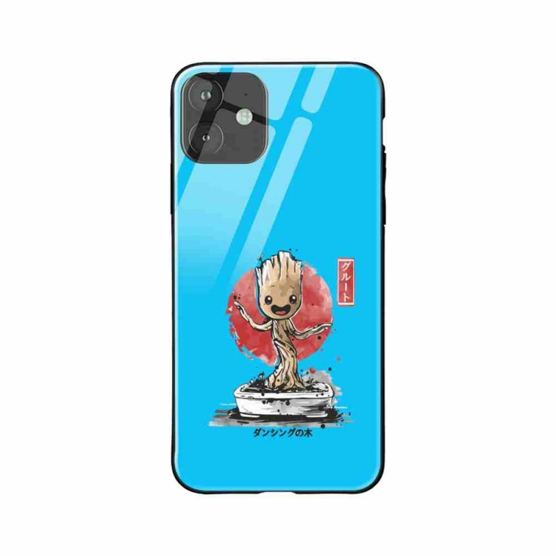 Buy Apple iPhone 11 Bonsai Groot- Glass Case Mobile Phone Covers Online at Craftingcrow.com