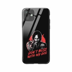 Buy Apple iPhone 11 Dont Mess With my Dog- Glass Case Mobile Phone Covers Online at Craftingcrow.com