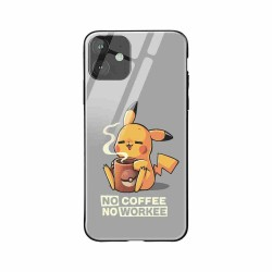 Buy Apple iPhone 11 No Coffee No Workee- Glass Case Mobile Phone Covers Online at Craftingcrow.com