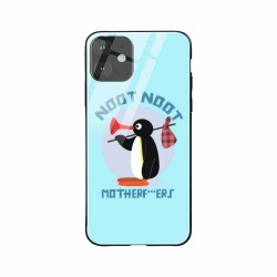 Buy Apple iPhone 11 Noot Noot- Glass Case Mobile Phone Covers Online at Craftingcrow.com