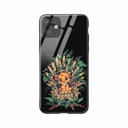 Buy Apple iPhone 11 Real King- Glass Case Mobile Phone Covers Online at Craftingcrow.com