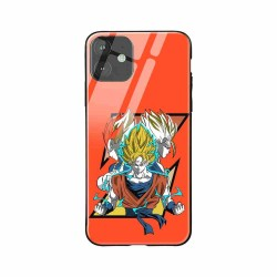 Buy Apple iPhone 11 Saiyan Trio- Glass Case Mobile Phone Covers Online at Craftingcrow.com