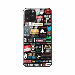 Buy Apple iPhone 11 Pro Max Friends Glass Case Mobile Phone Covers Online at Craftingcrow.com