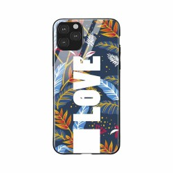 Buy Apple iPhone 11 Pro Max Love Glass Case Mobile Phone Covers Online at Craftingcrow.com