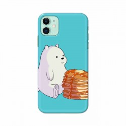 Buy Apple Iphone 11 Bear and Pan Cakes Mobile Phone Covers Online at Craftingcrow.com
