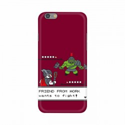 Buy Apple Iphone 6 Friend From Work Mobile Phone Covers Online at Craftingcrow.com