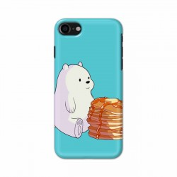 Buy Apple Iphone 8 Bear and Pan Cakes Mobile Phone Covers Online at Craftingcrow.com