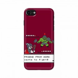 Buy Apple Iphone 8 Friend From Work Mobile Phone Covers Online at Craftingcrow.com