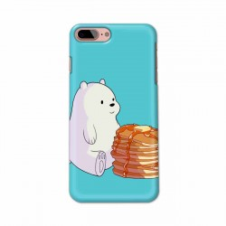 Buy Apple Iphone 8 Plus Bear and Pan Cakes Mobile Phone Covers Online at Craftingcrow.com
