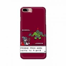 Buy Apple Iphone 8 Plus Friend From Work Mobile Phone Covers Online at Craftingcrow.com
