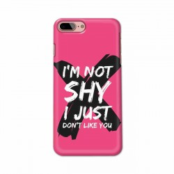 Buy Apple Iphone 8 Plus I am Not Shy Mobile Phone Covers Online at Craftingcrow.com