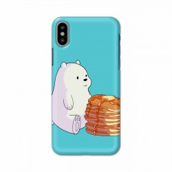 Buy Apple Iphone X Bear and Pan Cakes Mobile Phone Covers Online at Craftingcrow.com