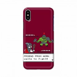 Buy Apple Iphone X Friend From Work Mobile Phone Covers Online at Craftingcrow.com