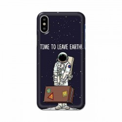 Buy Apple Iphone X Time to Leave Earth Mobile Phone Covers Online at Craftingcrow.com