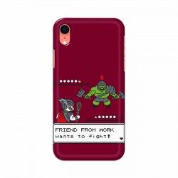 Buy Apple Iphone XR Friend From Work Mobile Phone Covers Online at Craftingcrow.com