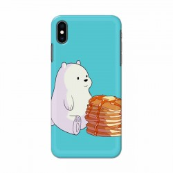 Buy Apple Iphone XS Bear and Pan Cakes Mobile Phone Covers Online at Craftingcrow.com