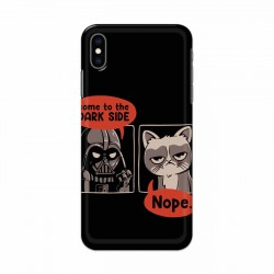 Buy Apple Iphone XS Not Coming to Dark Side Mobile Phone Covers Online at Craftingcrow.com