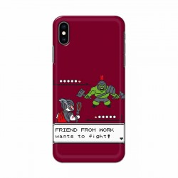 Buy Apple Iphone XS Max Friend From Work Mobile Phone Covers Online at Craftingcrow.com