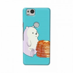 Buy Google Pixel 2 Bear and Pan Cakes Mobile Phone Covers Online at Craftingcrow.com