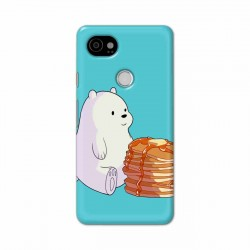 Buy Google Pixel 2 Xl Bear and Pan Cakes Mobile Phone Covers Online at Craftingcrow.com