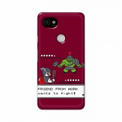 Buy Google Pixel 2 Xl Friend From Work Mobile Phone Covers Online at Craftingcrow.com