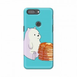 Buy One Plus 5t Bear and Pan Cakes Mobile Phone Covers Online at Craftingcrow.com