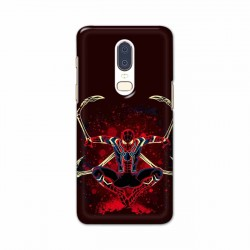 Buy One Plus 6 Iron Spider Mobile Phone Covers Online at Craftingcrow.com