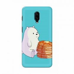 Buy One Plus 6t Bear and Pan Cakes Mobile Phone Covers Online at Craftingcrow.com