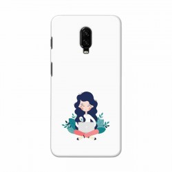 Buy One Plus 6t Busy Lady Mobile Phone Covers Online at Craftingcrow.com